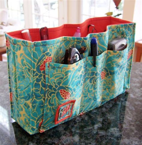 tote bag pattern with dividers sewing pattern pdf purse organizer insert coins
