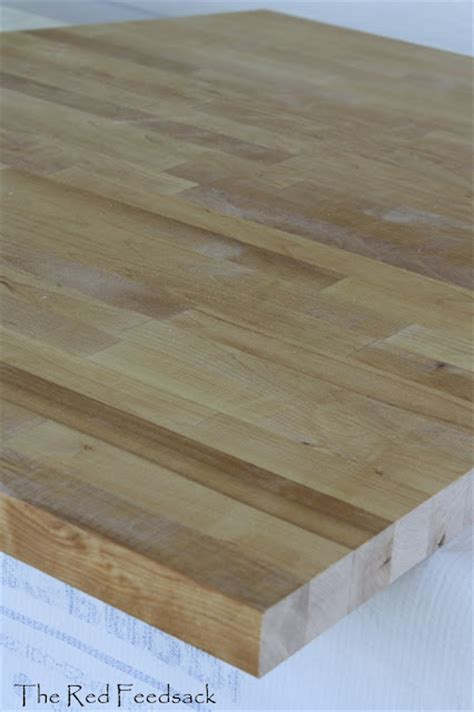 Birch Butcher Block Countertops by Sanding Butcher Block Countertops Home Improvement