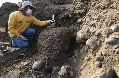 centro meteo co dei fiori scoperta archeologica sensazionale a lima ritrovate