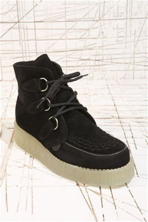 underground boots for underground shoes black suede boots in black lyst