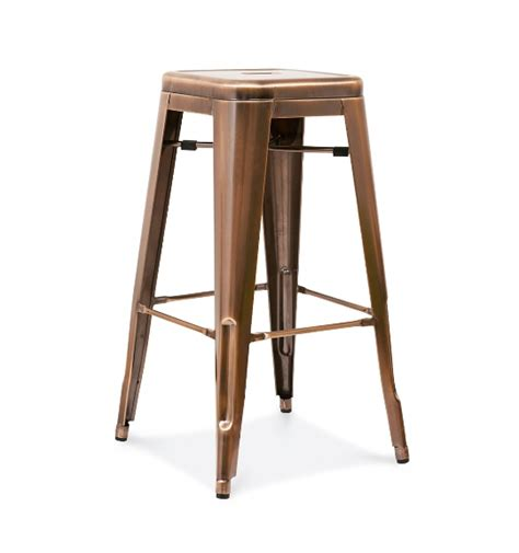 tolix metal bar stools dark copper tolix bar stool metalrestaurantchairs com