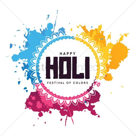 Holi Clipart Images