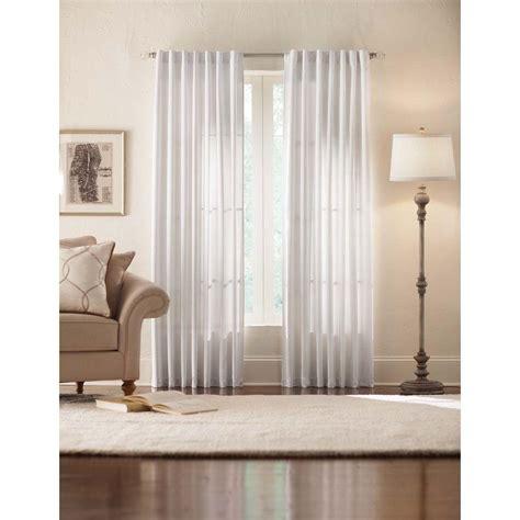 white back tab curtains home decorators collection semi opaque monaco white