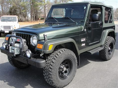 jeep tj willys edition jeep wrangler willys edition stk 1113 gilbert jeeps