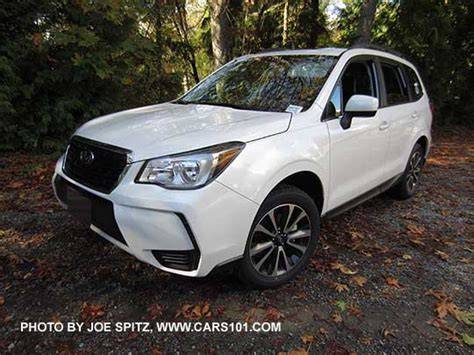 subaru forester 2017 white 2017 subaru forester research webpage