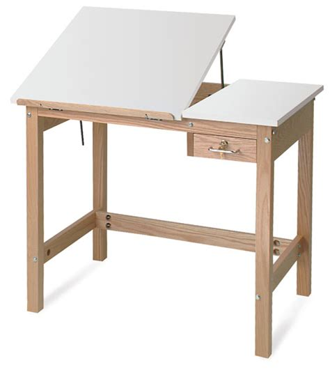 Smi Wooden Drafting Table Blick Art Materials Drafting Table Top Material