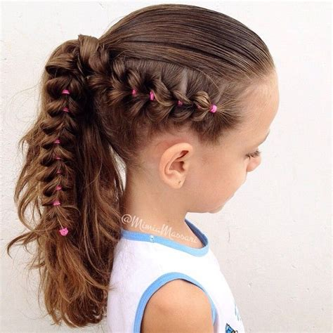 hairstyle using rubberbainds and folding hair through to create braid 1000 images about hairstyles using rubber band s on