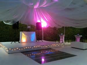 stage and floor rentals in miami