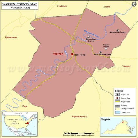 Virginia Judiciary Search Warren County Warren County Map Virginia
