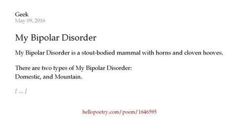 grounded by bipolar disorder one pilot s landing books my bipolar disorder by n geekryn coulombe hello poetry