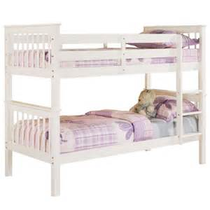 bunk beds white bunk beds beds direct warehouse gainsborough