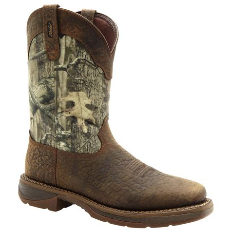 durango western boots workin rebel by durango 174 western boots nicotine mossy