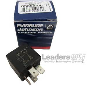 johnson evinrude omc new oem power trim amp tilt relay fuse