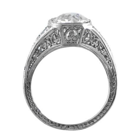 antique art deco two stone diamond ring estate diamond