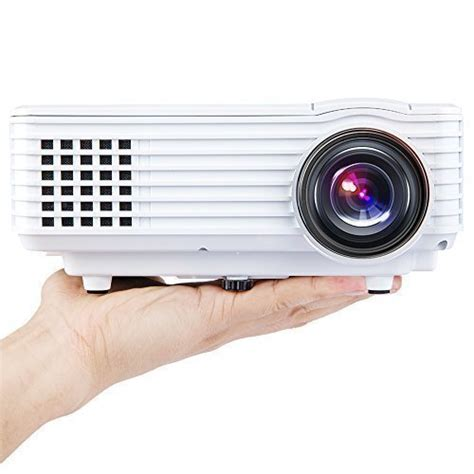 Best Price Projector X1c Mini dbpower portable multimedia mini led projector with usb