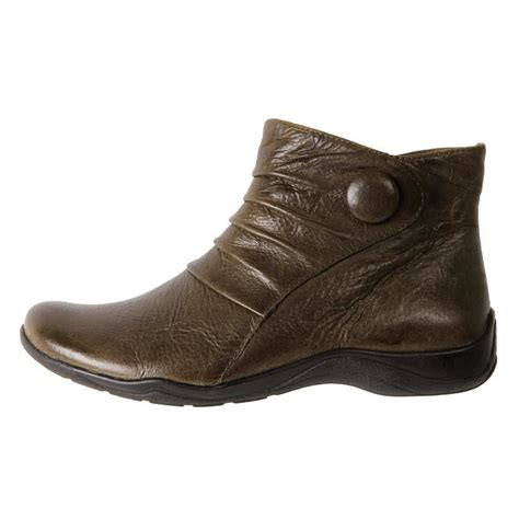 discount womans boots cheap planet shoes s comfort leather ankle boots