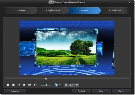 themes photo slideshow creator cyberlink power director video editing tool with