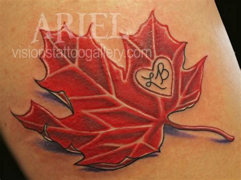canadian maple leaf tattoo designs leaf images designs