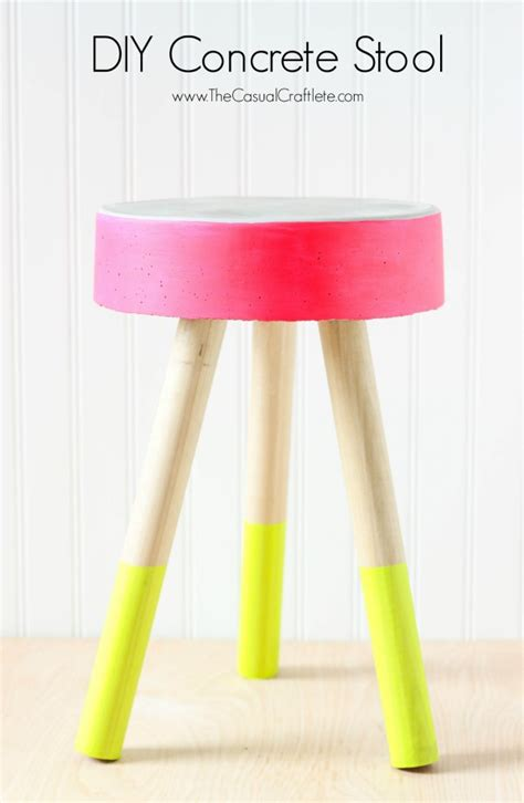 Concrete Stool Diy by Diy Concrete Stool