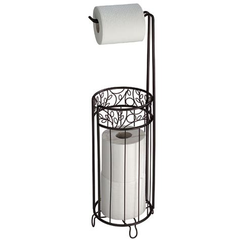toilet paper rack twigz toilet paper holder and reserve bronze in toilet