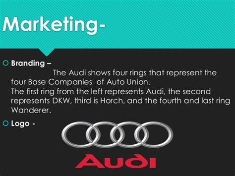 Audi Slogan by Audi Marketing Segmentation Presentation