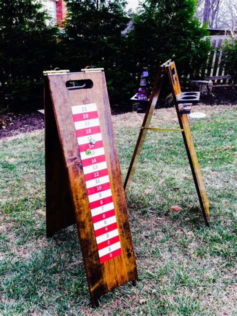 backyard scoreboards backyard games scoreboard and drink holder