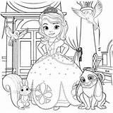 coloriage princesse sofia pour imprimer le coloriage princesse sofia ...