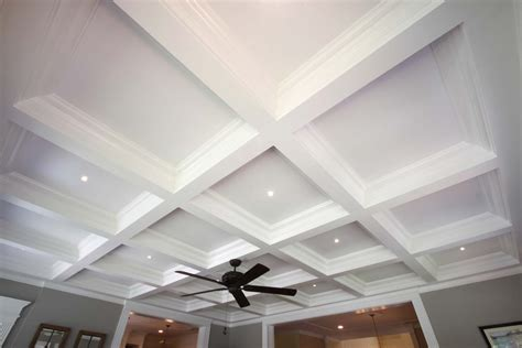 Images Of Coffered Ceilings by Coffered Ceiling Systems Easy Coffered Ceiling In A Day