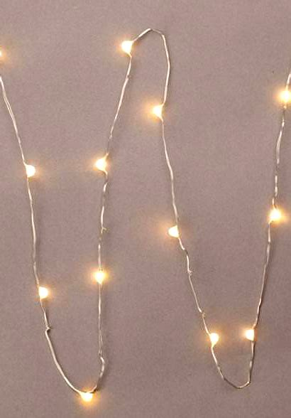 everlasting glow led lights everlasting glow led micro light string 18 warm white 36