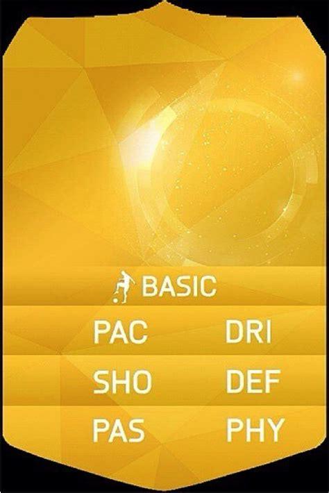 fifa 11 ultimate team card template gokulam football club october 2015