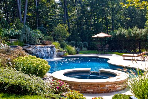 Swimming Pool Garden Ideas Beautiful Landscaping Gardens Cipriano Landscape Design Nj