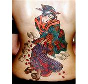 Japanese Tattoos Are Called Irezumi Or Horimono In Japan