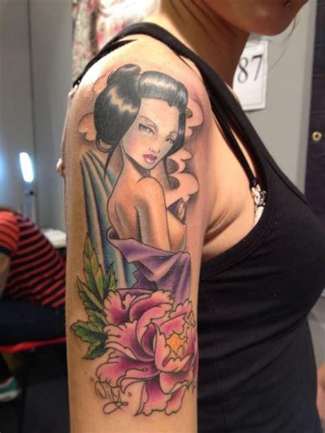 tattoo geisha hombro tatuajes en el hombro para chicas belagoria la web de