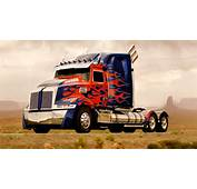 The Completely Upgraded Custom Built Optimus Prime From Western Star