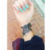 Black And Grey Rose Tattoo  Best Design Ideas