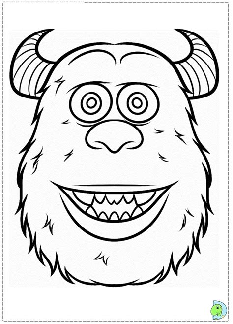 coloring pages for monsters university monsters university coloring page dinokids org