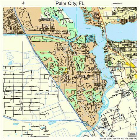 map palm florida palm city florida map 1254175