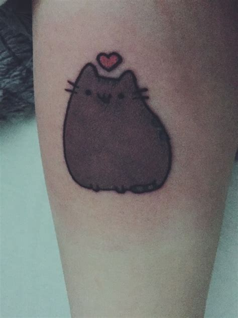 pusheen tattoo pusheen
