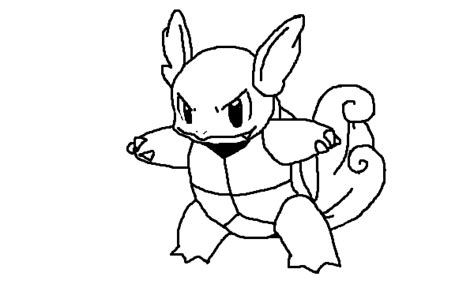 pokemon coloring pages wartortle pokemon squirtle coloring pages getcoloringpages com