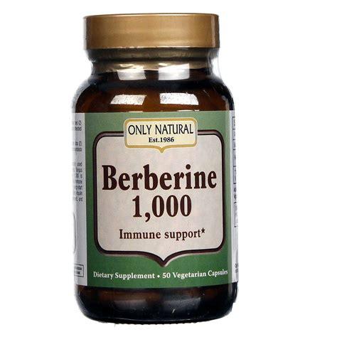 Berberine Used As A Detox by Only Berberine 1000 50 Vcaps Evitamins