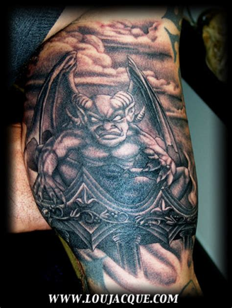 tattoos gargoyle designs gargoyle designs