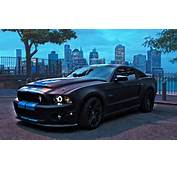 2015 Ford Mustang Shelby GT500 Black Wallpaper