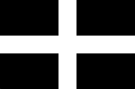 file flag of cornwall svg wikimedia commons