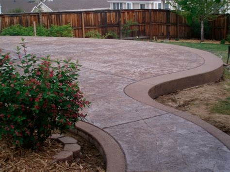 Stamped Concrete Patio ? Aurora CO ? Diehl Concrete