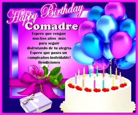 imágenes de feliz cumpleaños hermana que dios te bendiga imagenes de cumplea 241 os para una comadre especial