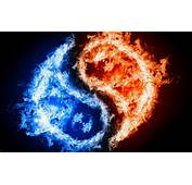 Yin Yang Fire Ice Wallpapers Pictures Photos Images