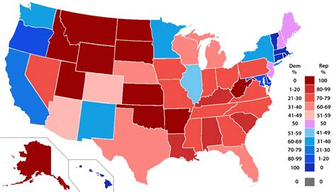 us map democratic states electoral college tie here s what happens time