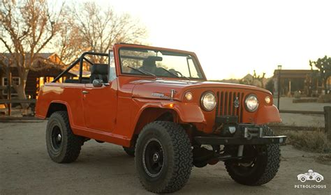Jeep Commando S Daily Driver Jeepster Commando Marches To Own Beat