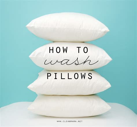 How To Freshen Pillows - how to wash pillows clean