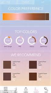 app to test hair color up to your skin age femail tests new app that charts